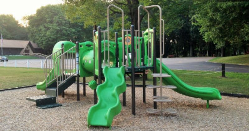Toddler Play Area at Uniontown Community Park