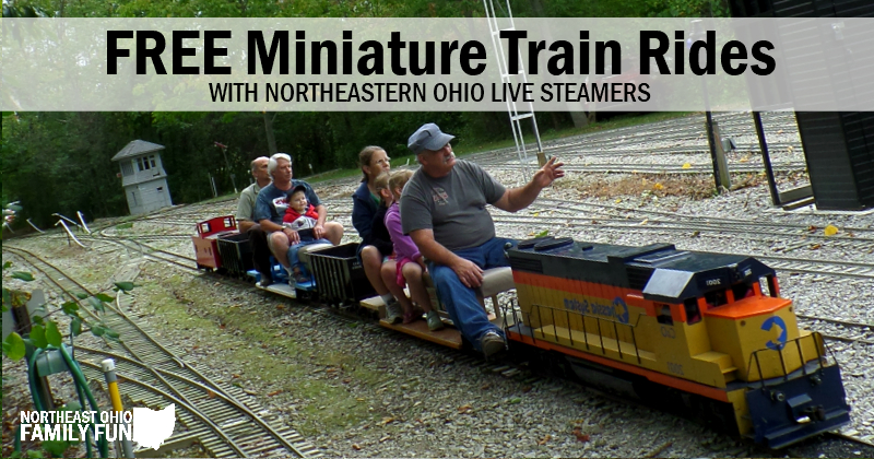 Train Rides at Lester Rail Trail Media Ohio