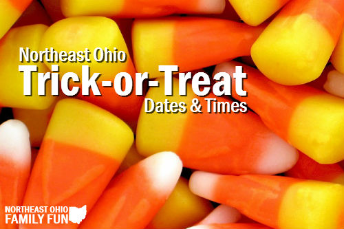 Trick-or-Treat Dates & Times
