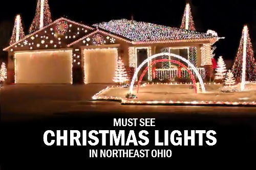 christmas lights northeast ohio - Where To Go See Christmas Lights