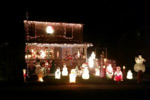 Christmas Lights in Summit County Ohio