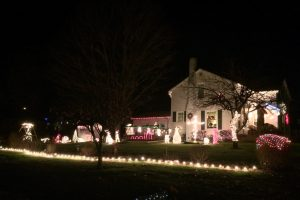 Christmas Light Display in Wadsworth