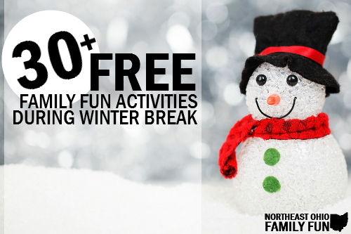 Free things to do during winter break in ohio