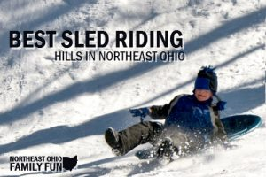 Sled Riding in Northeast Ohio