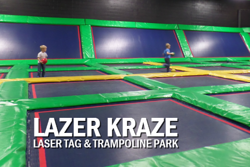 Lazer Kraze Indoor Fun Center