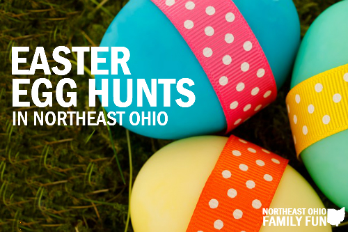 Northeast Ohio Easter Egg Hunts and More