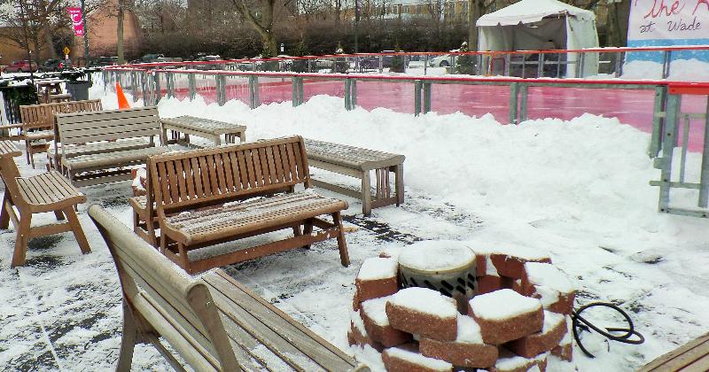 Outdoor Ice Rink Cleveland Ohio