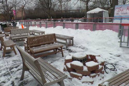 Outdoor Ice Rink Cleveland Ohio