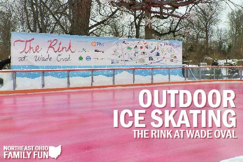 Outdoor Ice Skating at The Rink at Wade Oval