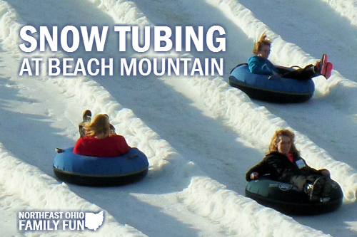 Snow Tubing at Beach Mountain