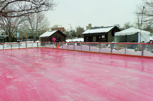 The Ice Rink at Wade Oval University Circle Cleveland