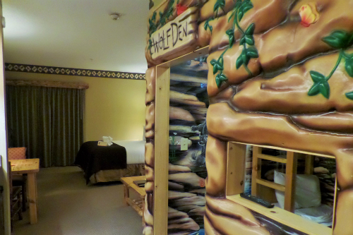 Wolf Den Suite with Bunk Beds