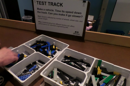 Building Race Cars at Great Lakes Science Center