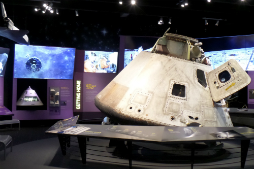 Spaceship at the Great Lakes Science Center Ohio