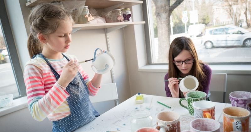 Arts & Crafts for Kids: Pottery, Painting, Jewelry and more!