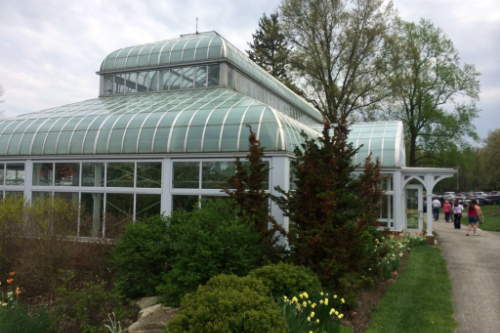 Conservatory Outside at Stan Hywet