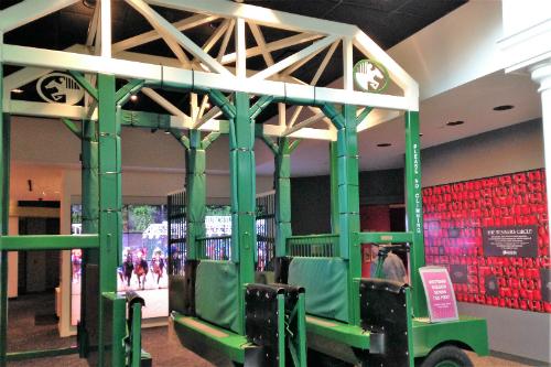 Entrance into Kentucky Derby Museum