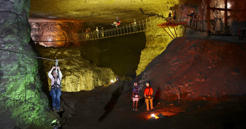 Explore the Louisville Mega Cavern