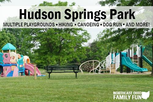 Hudson Springs Park Playground Ohio