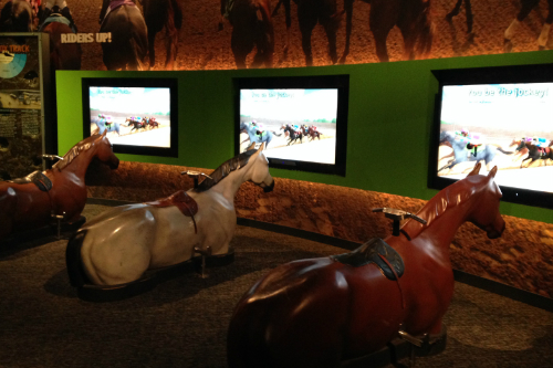 Kentucky Derby Game at the Derby Museum