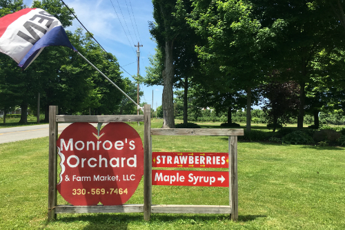 Monroes Orchards and Farm Market Ohio
