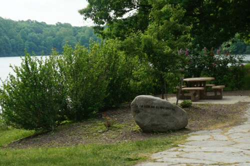 Picnic Area by Lake Hudson Springs Park