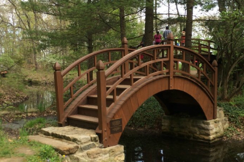 Second Bridge Stan Hywet Gardens