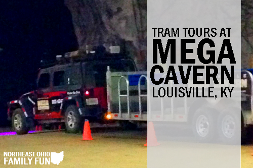 The Mega Tram Tour at Louisville Mega Cavern