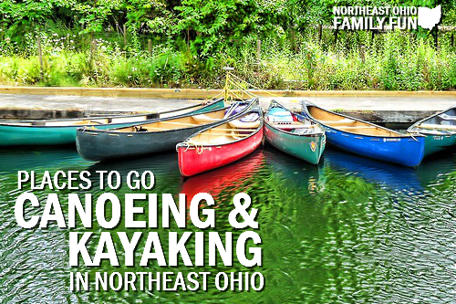 Places to Canoe & Kayak in Northeast Ohio