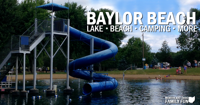 Lake and Beach at Baylor Beach Park
