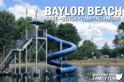 Lake and Beach at Baylor Beach Park