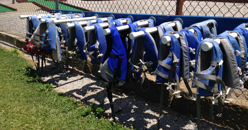 Life Jackets Available at Baylor Beach Park