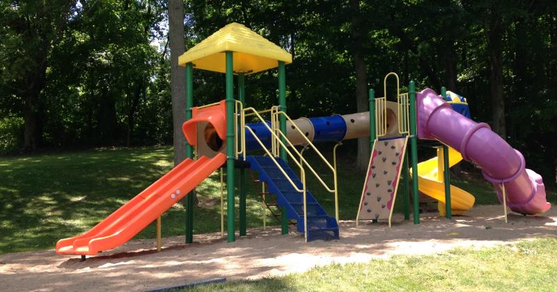 Playground at Baylor Beach Park Canton Ohio