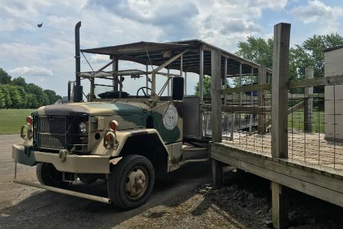 Safari Wagon at Wagon Trails