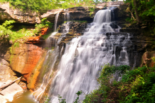 Brandywine Falls at Cuyahoga Valley National Park Ohio