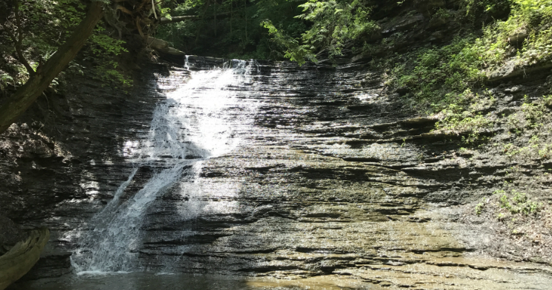 Buttermilk Falls at Cuyahoga Valley National park
