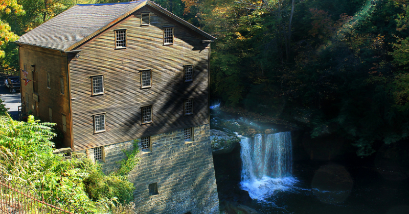 Lantermans Falls at Lantermans Mill