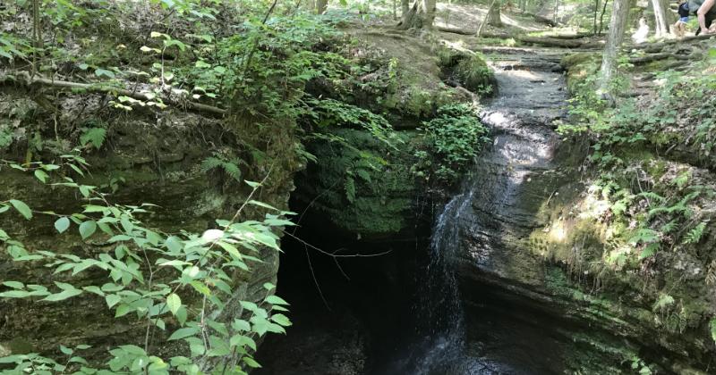 Minnehaha Falls at Nelson-Kennedy Ledges State Park