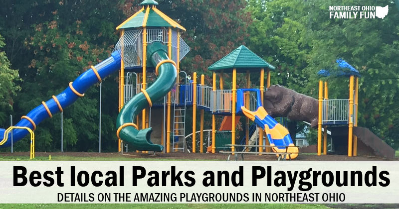 Best Playgrounds across Northeast Ohio