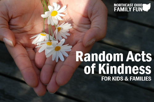 Random Acts of Kindness for Kids and Families