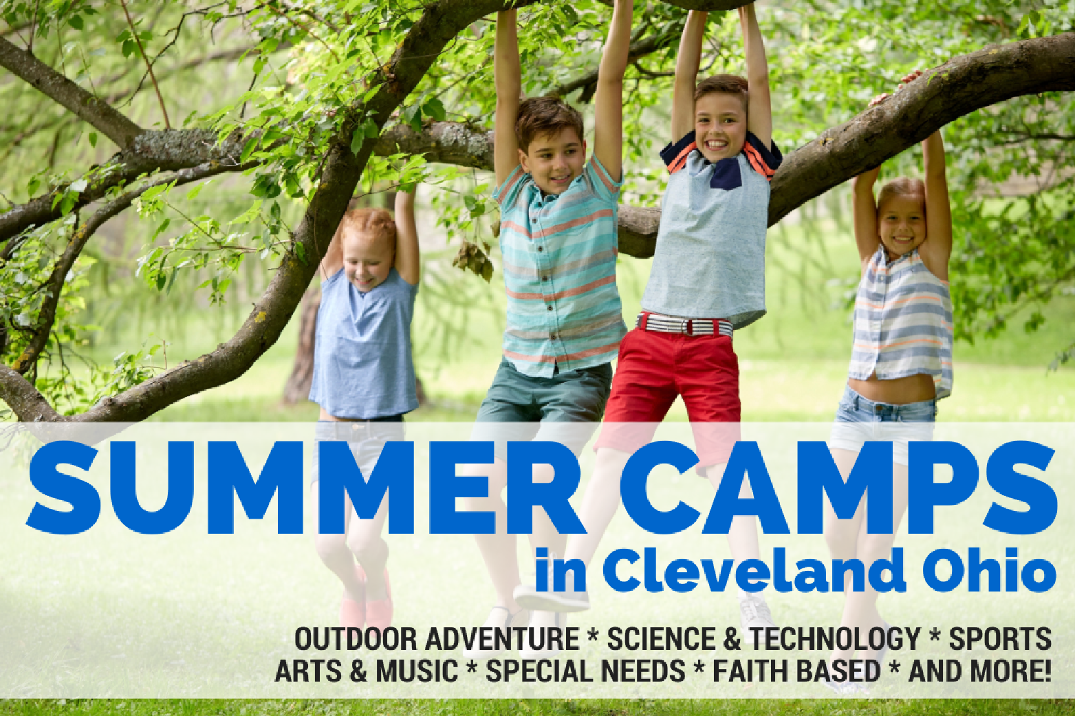Summer Camp Cleveland Ohio