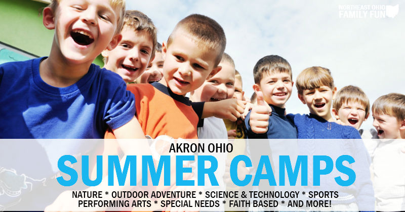 2018 Summer Camps in Akron Ohio