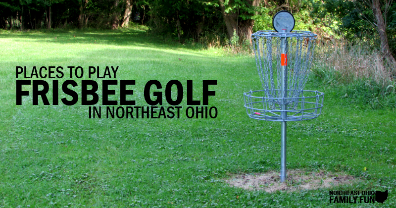 Frisbee Disc Golf Northeast Ohio