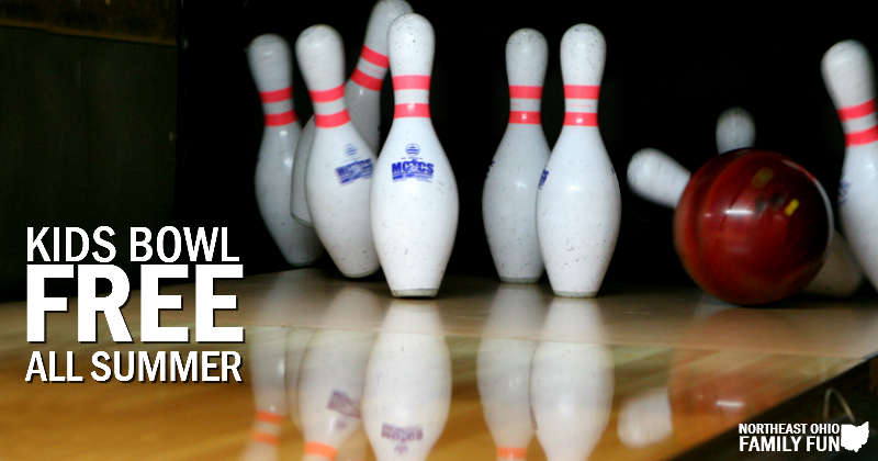 Kids Bowl FREE All Summer Long