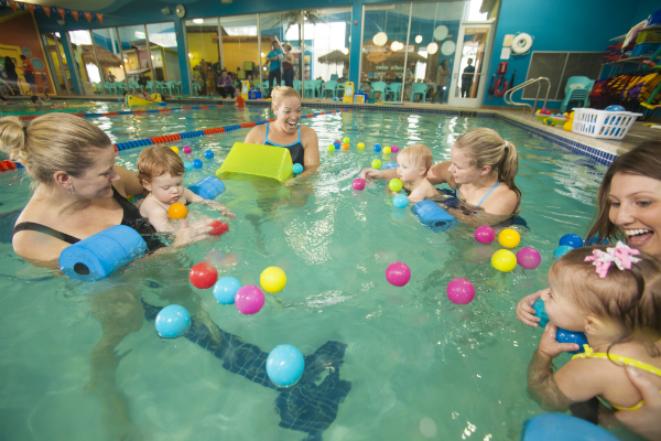 Family Swim at Goldfish Swim School