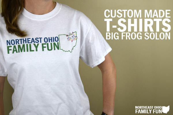 Custom Made T-Shirts at Big Frog Solon