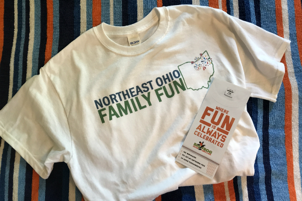 Northeast Ohio Family Fun Custom T-shirt