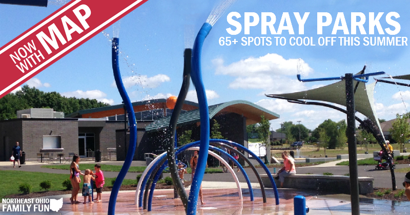 Northeast Ohio Spraygrounds and Spray Parks – with Interactive Map!