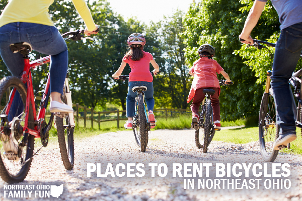 Places to Rent Bikes in Northeast Ohio