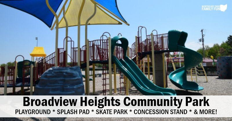 Broadview Heights Playground & Splash Pad